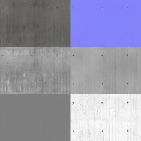 bare concrete pbr textures