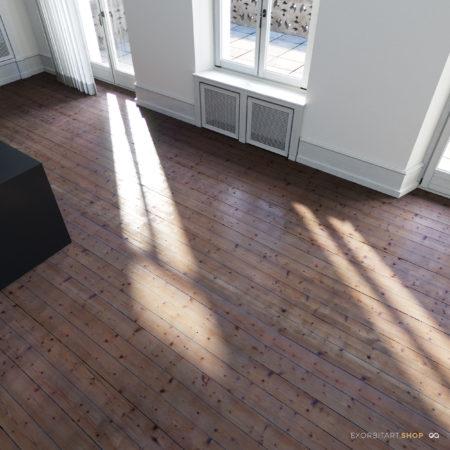 scanned wood floor textures