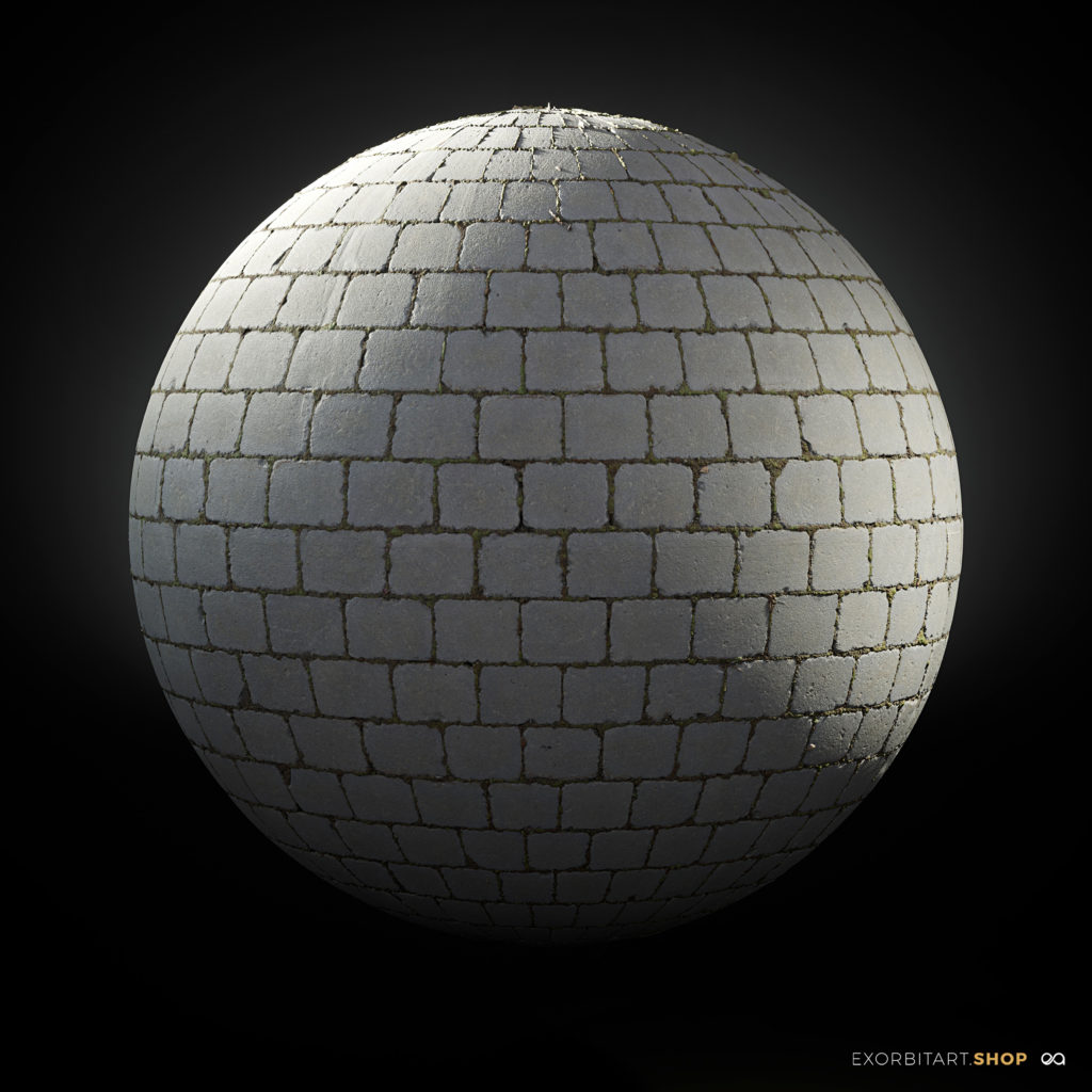 shaderball_stretcherbond-1024x1024 EXORBITART - Scanned Exterior Floors V.1 - Texture Collection (20pcs)